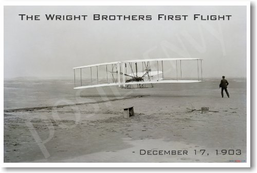Wright Brothers First Flight - 1903 - NEW Vintage Photograph
