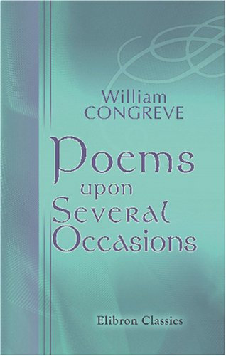 Read Online Poems upon Several Occasions pdf
