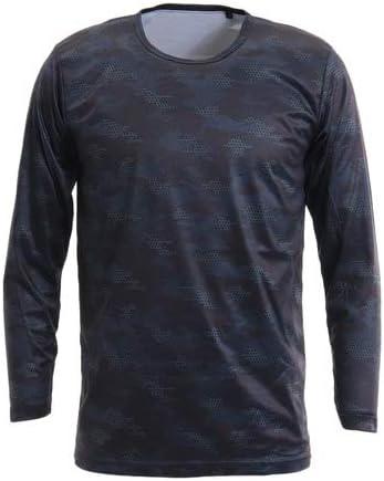 PGAC(PGAC) ウインドクロス 防風 長袖クルーシャツ カモ 891PA9ASC5001BLK