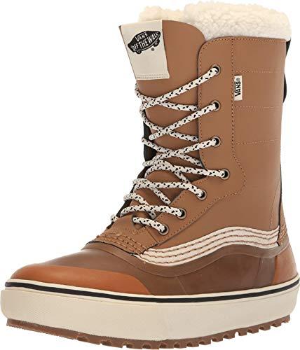 (Vans Standard Unisex Snow Boots, Brown/White , 2019 M 10.5/W 12 D US)