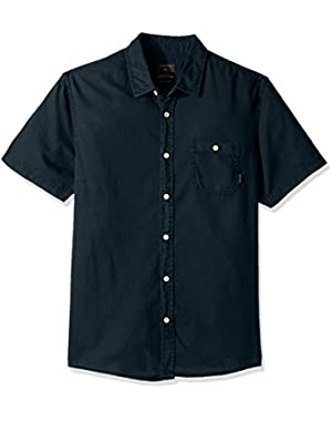 Men's Time Box Woven Top