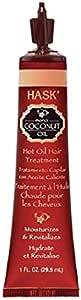 Hask Coconut Oil Hot Oil Hair Treatment, 29.5 ml