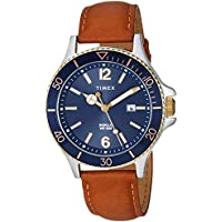 [Patrocinado] Timex Harborside - Reloj de pulsera para hombre (1.654in)