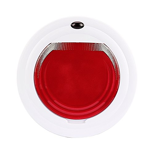 Dabot P1 Intelligent Mop Robot Vacuum Cleaner Smart Sweeper Wipe for Home,household Cleaning (Red)