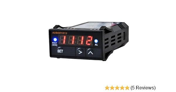 Digital EGT Gauge with 2 Alarm Outputs and K Type EGT Temp Sensors Combo Kit ℃)