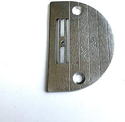 Placa de aguja #111859-0-01 (E18) para máquina de coser Brother ...