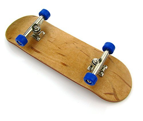 ZUINIUBI Tech Decks Complete Maple Wooden Fingerboards Mini Professional Skateboards with Bearing Wheels