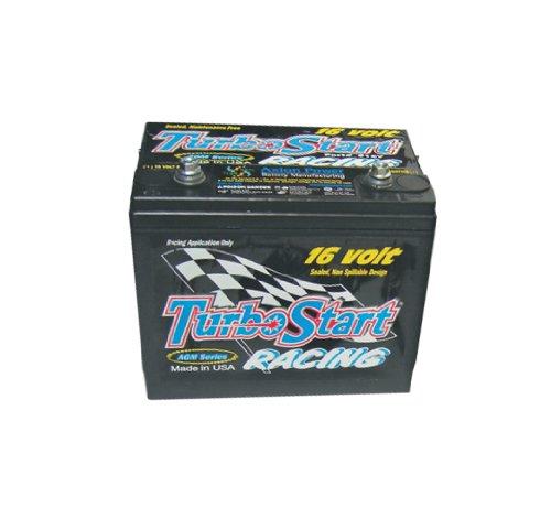 Turbo Series Battery - TurboStart S16V AGM Series 16-Volt Dry Cell Racing Battery