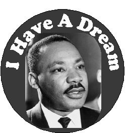 Amazon Com I Have A Dream Martin Luther King 1 25 Pinback Button