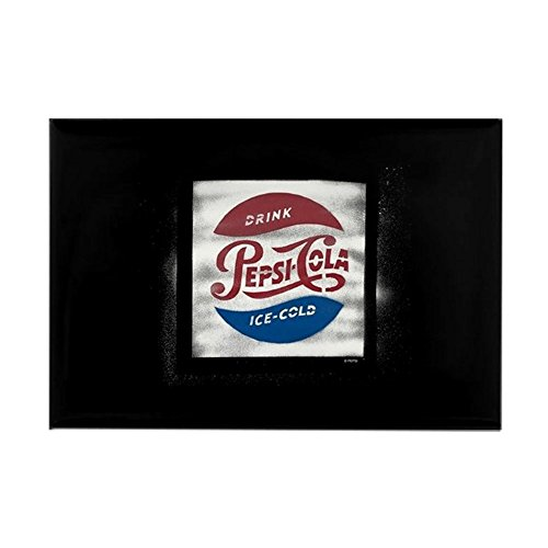 (CafePress Pepsi-Cola Ice Cold Rectangle Magnet, 2