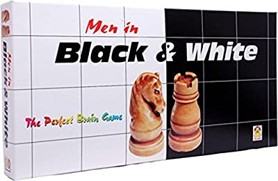 Kids Mandi Techno Men In Black & White Chess Set