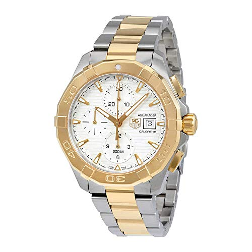 Tag Heuer Aquaracer Chronograph Silver Dial Mens Watch CAY2121.BB0923