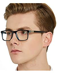 Optical Men's Eyewear Classic Non-prescription Eyeglasses...