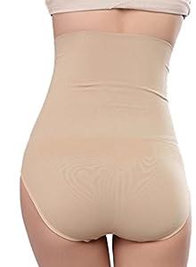 Shymay Women's Shapewear Hi-waist Full Brief Firm Control Tummy Slimming