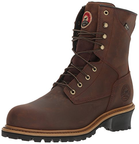 Irish Setter Work Men's Mesabi Steel Toe 83834 Boot, Brown, 9.5 D US