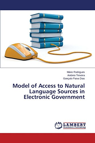 Model of Access to Natural Language Sources in Electronic Government