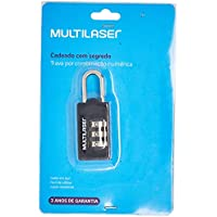 Cadeado Multilaser Com Segredo - AC252