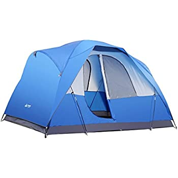 Semoo Water Resistant Lightweight 5 Person D-style Door Large Family C&ing/Travelling Tent  sc 1 st  Amazon.com & Amazon.com : Best Choice Products 5 Person Camping Tent Family ...