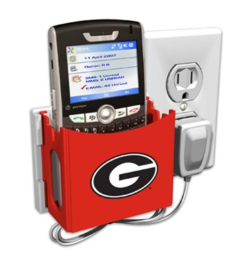 Georgia Bulldogs Socket Pocket - Duplex