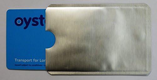 10 bloqueo RFID sin contacto tarjeta de débito crédito ...
