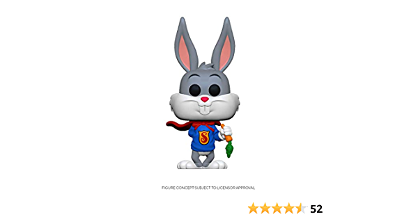 Funko Bugs Bunny comme Superman #842 DC Looney tunes édition spéciale Pop Vinyle