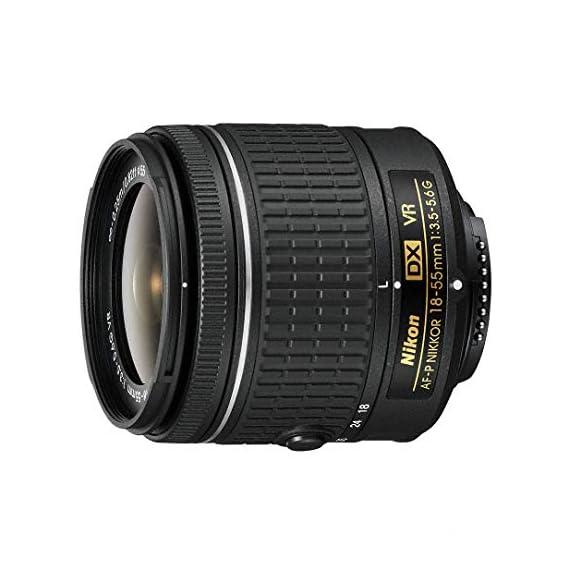 Nikon DX Nikkor 18-55 mm f/3.5-5.6G VR AF-P Lens for Camera (Black)