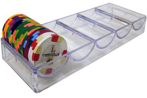 - Acrylic Poker Chip Rack/Tray - Fits Paulson Chips