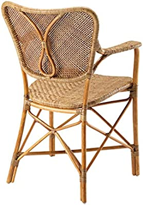 Outstanding Amazon Com Honey Rattan Dining Armchair Eichholtz Colony Ocoug Best Dining Table And Chair Ideas Images Ocougorg