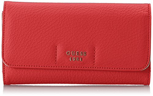 Guess Handbags Wallets - Trudy Slim Clutch Wallet, Poppy, One Size