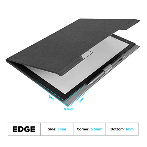"""Ayotu Microfiber Leather Cover for Sony DPT-RP1 13"""" Digital Paper,Light and Thin Case with Pen Slot for Sony DPT-RP1"""
