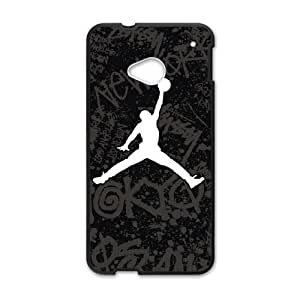 HTC One M7 Phone case Black Jordan logo KKSD6386919