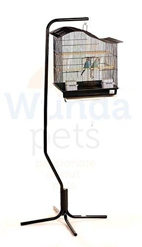 Calidad Negro Tamaño Mediano diseño de periquito Canario Pájaros ...