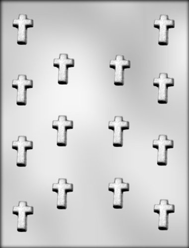 CK Products Small Cross Chocolate Mold - Molds Religious Candy