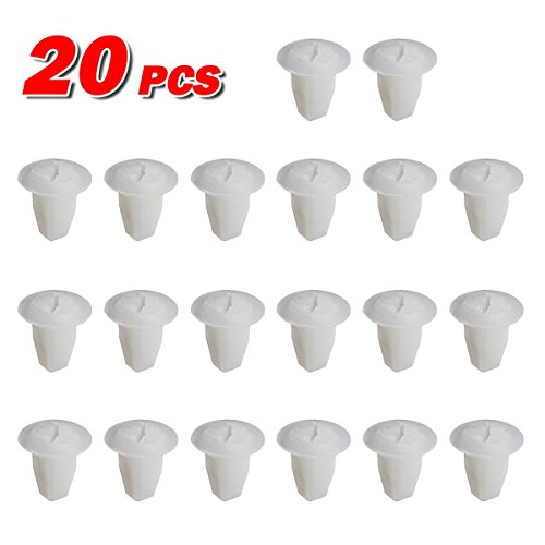 PartsSquare 20pcs Fender Liner Fastener Rivet Push Clips Retainer Replacement for Nissan 280ZX Replacement for Toyota Pickup Datsun Truck Corona