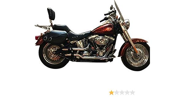Radiant Cycles Shorty GP Exhaust Short Muffler Slipon Pipe CB400 07-15 Chrome
