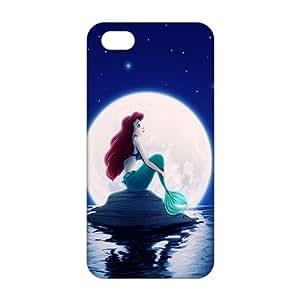 3D Case Cover Cartoon Cute Mermaid Phone Case For Htc One M9 Cover
