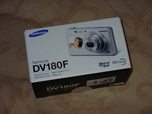 Samsung DV180F 16MP 5x Optical Zoom Smart Camera (White) EC-DV180FBPWE1 - International Version (No Warranty)