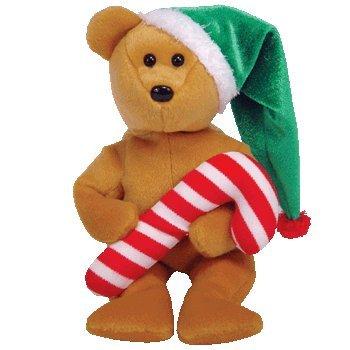 Amazon.com  TY Beanie Babies  TASTY the Holiday Teddy Bear Small ... 8f14e6d0277