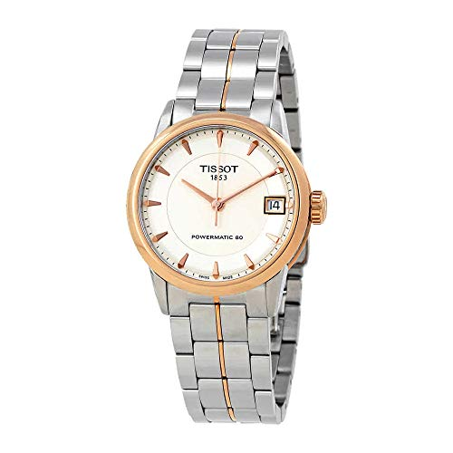 - Tissot Lady Luxury Automatic Ivory Dial Two-Tone Stainless Steel Ladies Watch T0862072226101