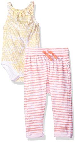 Burt's Bees Baby Baby Girls' Top and Pant Set, Tunic and Legging Bundle, 100% Organic Cotton