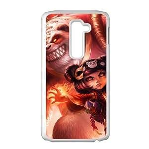 LG G2 phone case White League of Legends Annie POL2871509
