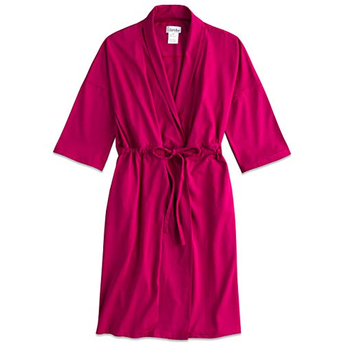 (Recovery Robe for Breast Cancer/Surgery Recovery (2XL, Berry))