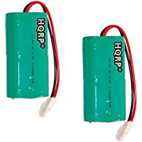 HQRP 2-Pack Battery for Mosquito Magnet HHD10006 MM565021 Liberty Plus, Executive Trap, Commander Trap MMBATTERY MM3100 MM3300 MM3400 565-021 H-SC3000X4 + HQRP Coaster