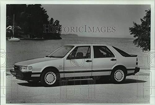 - Vintage Photos 1985 Press Photo 1986 Saab 9000 Turbo Sedan - mjt19635
