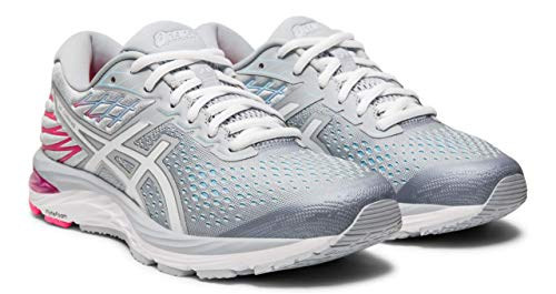 (ASICS Gel-Cumulus 21 Women's Running Shoe, Piedmont Grey/White, 9 D US)