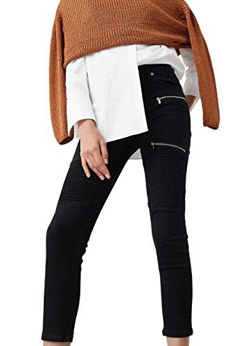 e042d8b069a best Mango Women s Super Slim-Fit Biker Jeans - dalstongarden.org