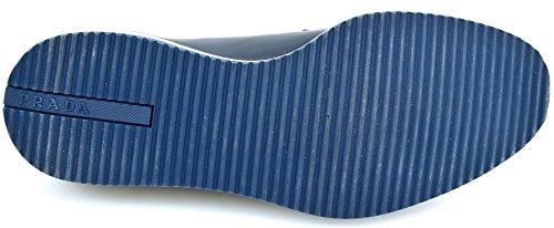 Pelle Classica Francesina Art Scarpa Blu Blue 2eg119 Prada Donna IwzFZqx