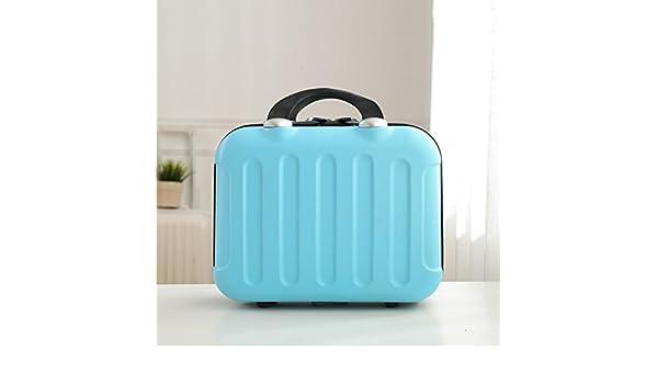 Home Monopoly- Travel Cosmetic Case Box Gran Capacidad Multi-funcional Simplicidad Portátil Profesional Profesional Impermeable Señora Maquillaje (Color : Azul) : Amazon.es: Hogar