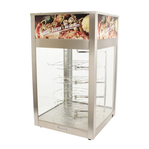 (Wisco 00695D-001 Humidified Pizza Cabinet with 4 Rotating)