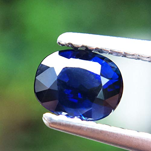 Lovemom 0.67ct Natural Oval Unheated Blue Sapphire Madagascar #W by Lovemom (Image #2)